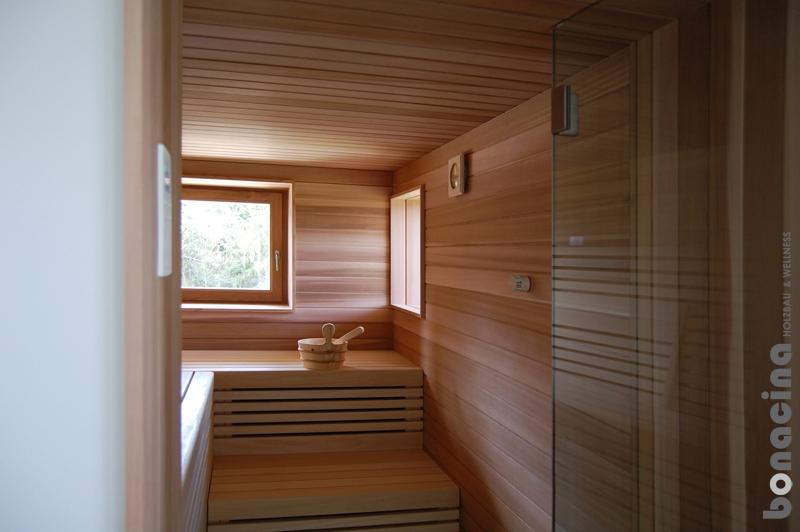 Individuelle Sauna nach Maß und Saunaplanung | BONACINA ...
